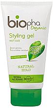 Kup Żel do stylizacji włosów - Biopha Hair Styling Gel Wet Look