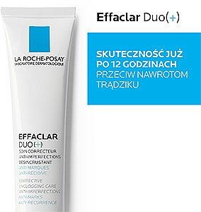Krem korekcyjny do walki z niedoskonałościami skóry - La Roche-Posay Effaclar Duo+ — фото N6
