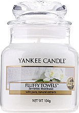 Kup Świeca zapachowa w słoiku - Yankee Candle Fluffy Towels