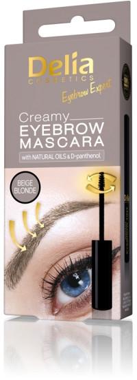 Kremowy tusz do brwi - Delia Creamy Eyebrow Mascara