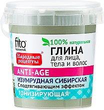 Kup Syberyjska glinka przeciwstarzeniowa do twarzy, ciała i włosów - FitoKosmetik Przepisy ludowe