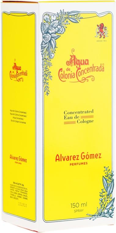 Alvarez Gomez Agua De Colonia Concentrada - Woda kolońska — фото N2