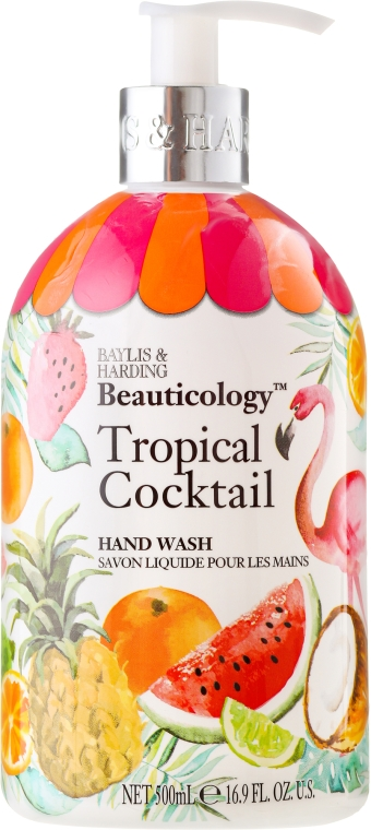 Mydło w płynie do rąk - Baylis & Harding Beauticology Tropical Cocktail Hand Wash