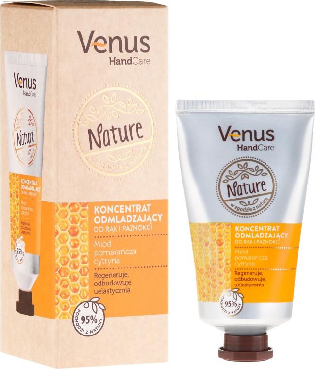 Koncentrat odmładzający do rąk i paznokci - Venus Nature