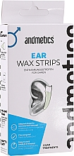 Kup Wosk do uszu - Andmetics Ear Wax Strips Men