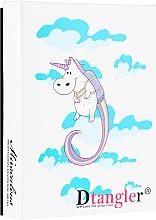 Kup Szczotki do włosów, niebieska i różowa - KayPro Dtangler Unicorn