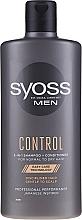 Kup Szampon-odżywka do włosów normalnych i suchych - Syoss Men Control 2-in-1 Shampoo-Conditioner