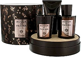 Kup Acqua di Parma Colonia Quercia - Zestaw (edc/100ml + candle/65g + sh/gel/75ml)
