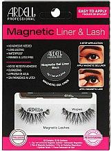 Kup Zestaw - Ardell Magnetic Lash & Liner Lash Wispies (eye/liner/2g + lashes/2pc)
