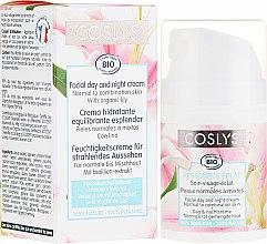 Kup Krem na dzień do skóry normalnej i mieszanej z ekstraktem z lilii - Coslys Facial Care Facial Day Cream With Lily Extract