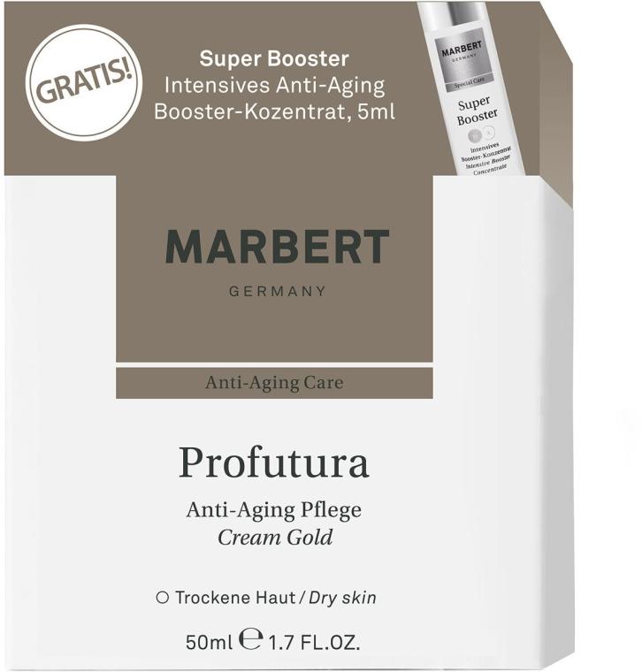 Przeciwstarzeniowy zestaw pielęgnacyjny - Marbert Profutura Anti-Aging (cr 50 ml + booster 5 ml) — фото N1