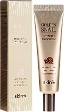 Kup Przeciwzmarszczkowy krem pod oczy ze śluzem ślimaka - Skin79 Golden Snail Intensive Eye Cream