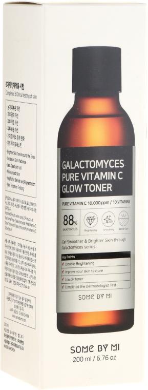 Nawilżający tonik do twarzy z witaminą C - Some By Mi Galactomyces Pure Vitamin C Glow Toner