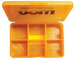 Organizer na leki i suplementy diety - Now Foods Vitamin Case Small — фото N2