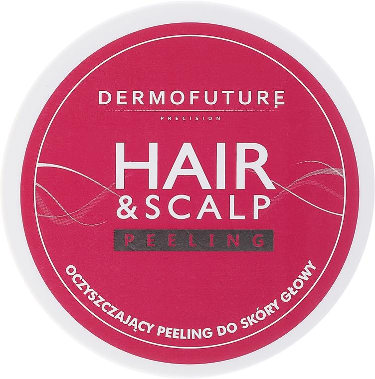 Oczyszczający peeling do skóry głowy - DermoFuture Hair&Scalp Peeling — фото N1