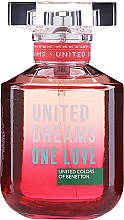 Kup PRZECENA! Benetton United Dreams One Love - Woda toaletowa *