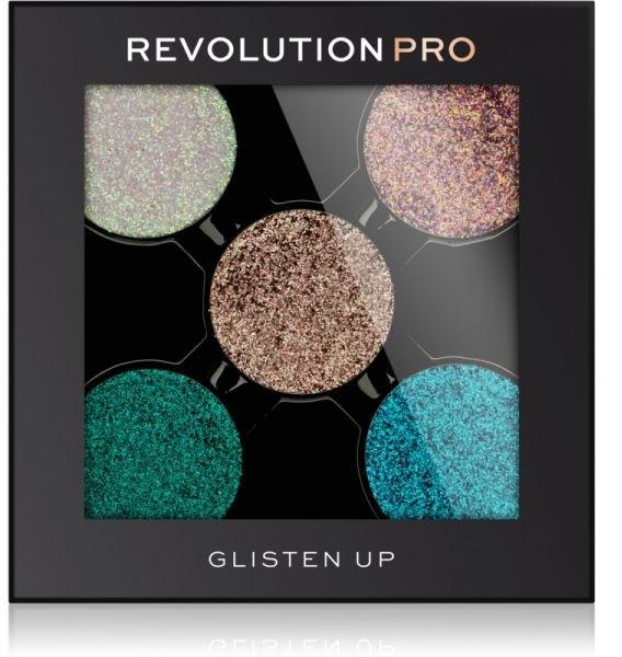 Cień do powiek - Revolution Pro Magnetic Glitter Eyeshadow (wymienny wkład) — фото N2
