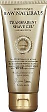 Kup Przezroczysty żel do golenia do wszystkich typów skóry - Recipe For Men RAW Naturals Transparent Shave Gel