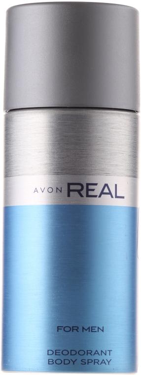 Avon Real For Men - Perfumowany dezodorant w sprayu dla mężczyzn — фото N1