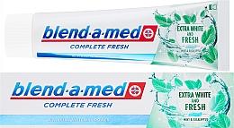 Kup Pasta do zębów Ekstrabiel i świeżość - Blend-a-med Complete Fresh Extra White & Fresh