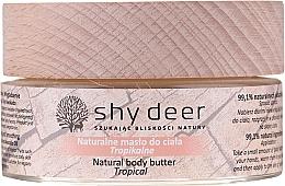 Zestaw - Shy Deer Christmas Ritual Set (b/butter/100ml + h/b/elixir/1.5ml + h/cr/50ml + b/milk/200ml + canddle + keychain + bag) — фото N9