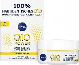 Kup Krem przeciwzmarszczkowy na dzień, skóra normalna - Nivea Q10 Power SPF 30