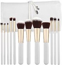 Kup Zestaw profesjonalnych pędzli do makijażu, biały, 12 szt. - Tools For Beauty
