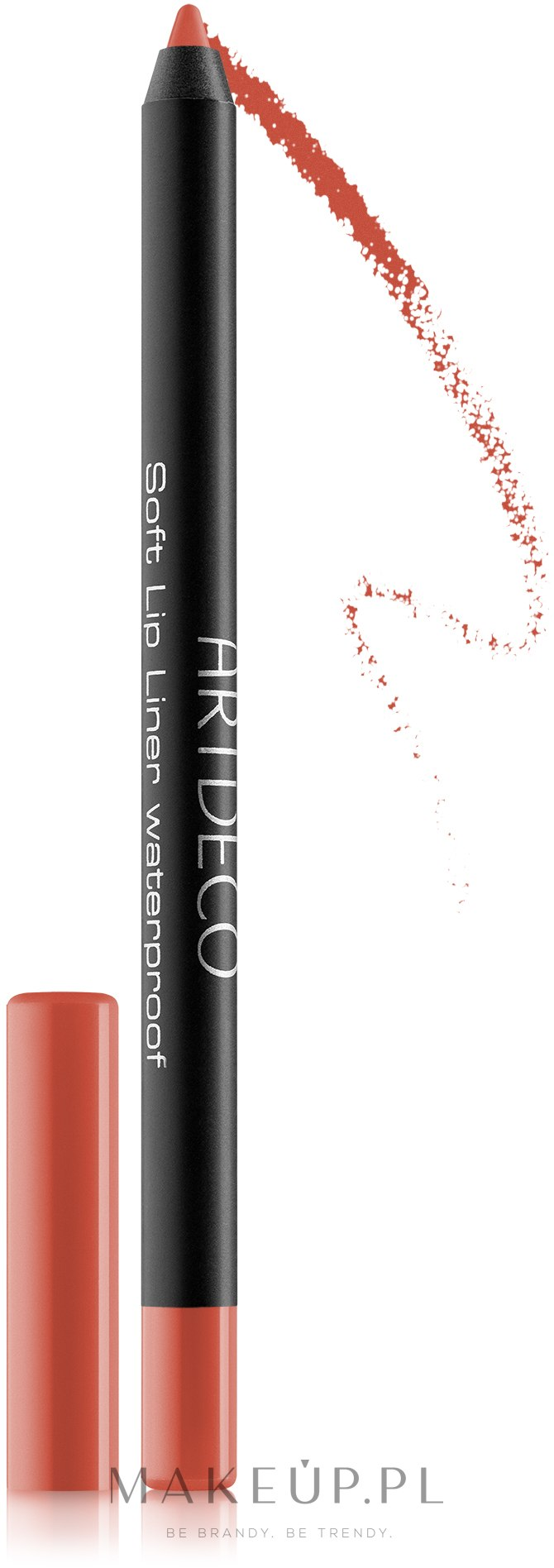 Wodoodporna konturówka do ust - Artdeco Soft Lip Liner Waterproof — фото 07 - Cadmium Orange