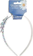 Kup Opaska na włosy 27581, Niebiesko-różowa - Top Choice