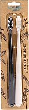 Kup Zestaw - The Natural Family Co Bio Brush Pirate Black & Ivory Desert (toothbrush/1pcs + toothbrush/1pcs)