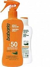 Kup Zestaw kosmetyków do ochrony ciała przed słońcem - Babaria Sun (b/spray 200 ml + balm 100 ml)