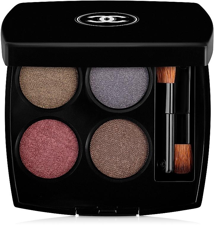 Intensywne cienie do powiek (4 kolory) - Chanel Les 4 Ombres Multi-Effect Quadra Eyeshadow