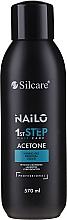 Kup Płyn do zdejmowania żelu do paznokci - Silcare Nailo Aceton