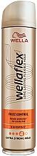 Kup Ekstramocny lakier do włosów Kontrola puszenia - Wella Wellaflex Frizz Control Extra Strong Hold Hairspray