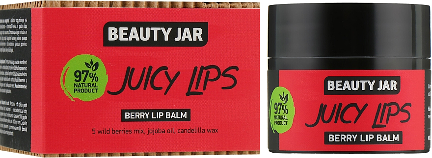 Balsam do ust - Beauty Jar Berry Lip Balm
