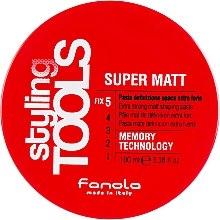 Kup Matowa pasta mocno utrwalająca włosy - Fanola Tools Super Matt Paste