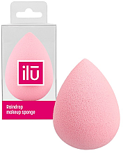 Kup Gąbka do makijażu Raindrop, różowa - Ilu