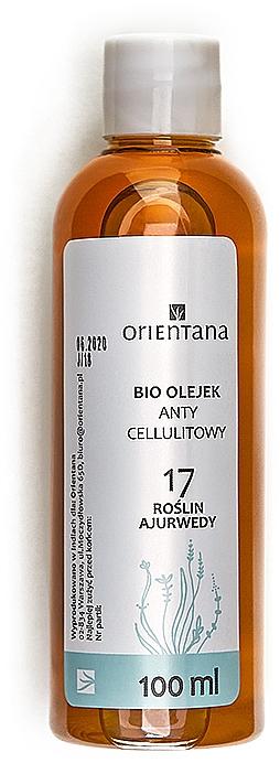 Bioolejek antycellulitowy 17 roślin ajurwedy - Orientana