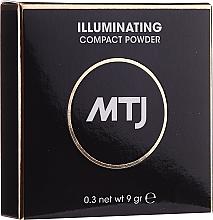Kup Rozświetlający puder do twarzy - MTJ Cosmetics Illuminating Compact Powder