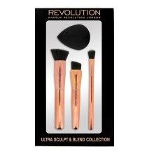 Kup Zestaw do makijażu - Makeup Revolution Ultra Sculpt & Blend Sponge Brush Collection