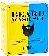 Kup Zestaw - Golden Beards Beard Wash Set (shmp 100 ml + cond 100 ml)