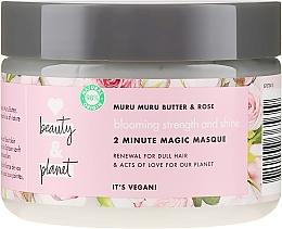 Kup Regenerująca maska do włosów Masło murumuru i róża - Love Beauty&Planet Muru Muru Butter&Rose Mask