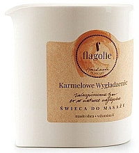 Kup Świeca do masażu Karmel - Flagolie Caramel Smoothing Massage Candle