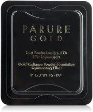 Kup Rozświetlający podkład w pudrze - Guerlain Parure Gold Gold Radiance Powder Foundation SPF 15 (wymienny wkład)