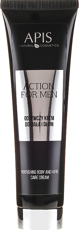 Odżywczy krem do ciała i dłoni - APIS Professional For Men Action Nourishing Cream