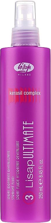 Wygładzający fluid do włosów - Lisap Milano Lisap Ultimate 3 Straight Fluid Spray