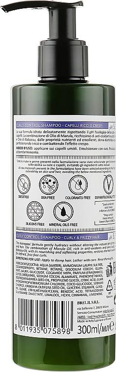 Szampon do włosów kręconych - Bothea Botanic Therapy Curly Control Shampoo pH 5.5 — фото N2