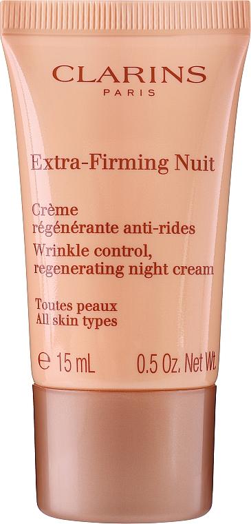 Zestaw - Clarins Double Serum & Extra-Firming Set (serum/30ml + cr/15ml + cr/15ml + bag) — фото N4