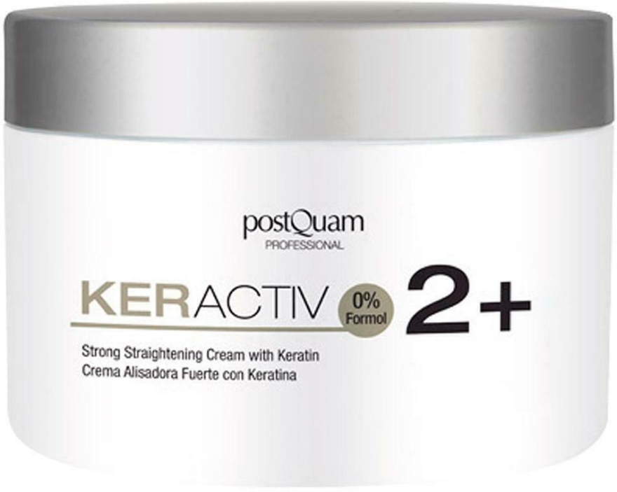Krem prostujący włosy - PostQuam Keractiv Strong Straightening Cream With Keratin — фото N1