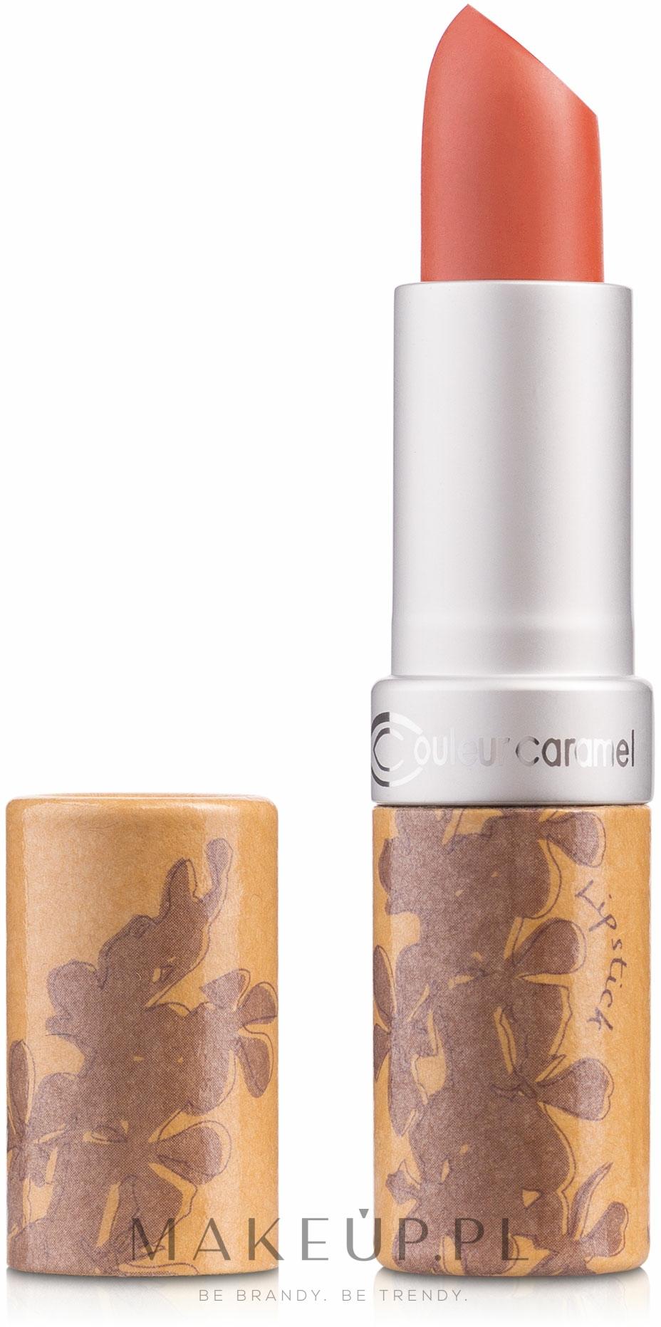 Masło w sztyfcie do ust - Couleur Caramel Lip Treatment Balm — фото 252 - Koral